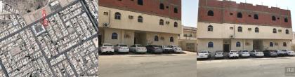 للبيع عمارة م 900م2 سكنيه 8 شقق داخل  حدود الحرم مكة المكرمة