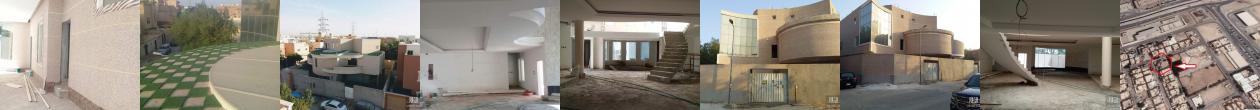 للبيع فيلا م 868م2 , 3 شوارع تصميم فريد ايطالي بناء شخصي حي النفل شمال الرياض