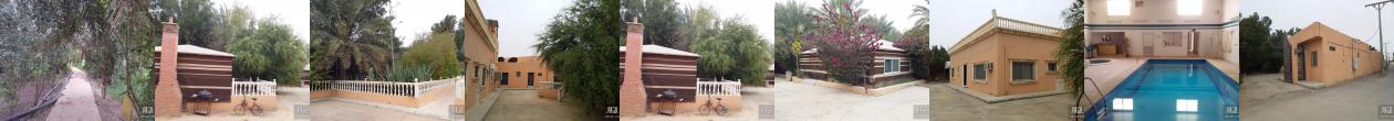 للبيع استراحة م 8000م2 مكتملة الخدمات و المرافق , الجبيلة , شمال الرياض